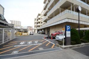 テクノWING大田駐車場入り口